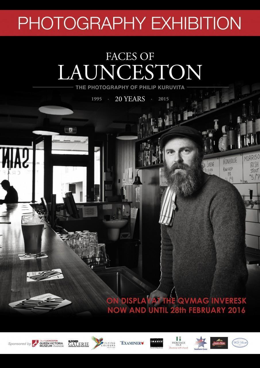Faces of Launceston 20 years